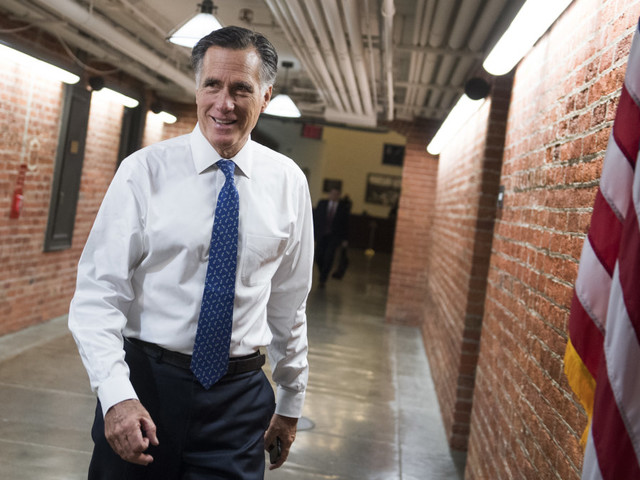 Romney dismisses Dems' effort to get Trump's tax returns