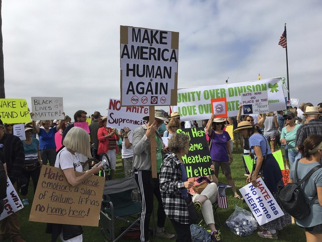Rally against illegal immigration set for California beach