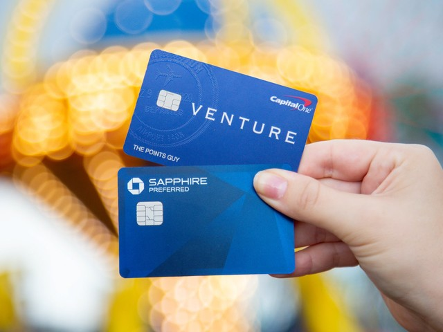 Starter card showdown: Chase Sapphire Preferred vs. Capital One Venture