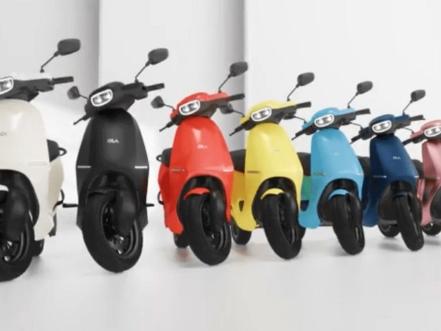 A Revolution in Ten Colours, Just Like You Asked! What's your colour? Ola Electric