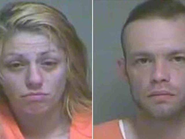 Twin babies found soaked in urine under garbage bags in car; parents charged