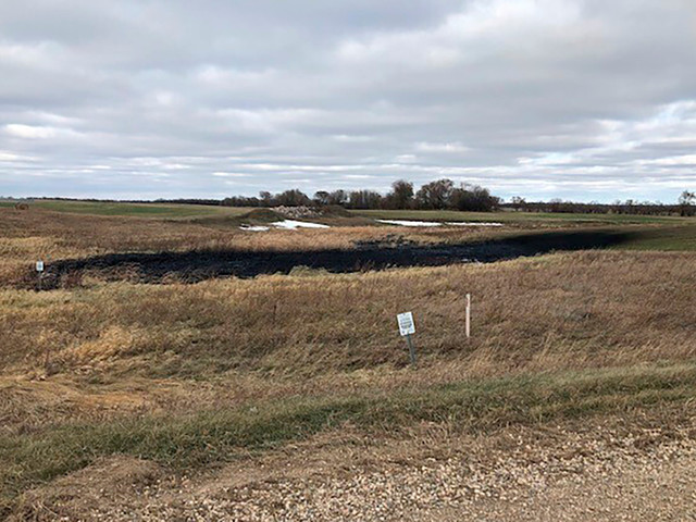 Nearly 400,000 gallons of oil spill from Keystone pipeline in North Dakota