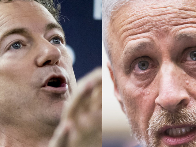 Rand Paul nails 'guttersnipe' Jon Stewart and the 'left-wing mob' for lying about 9/11 survivor fund