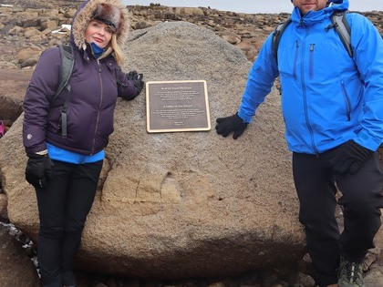 Iceland marks lost glacier with a plaque