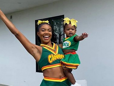 Gabrielle Union & Daughter Kaavia Dress Up as Her 'Bring it On' Character!
