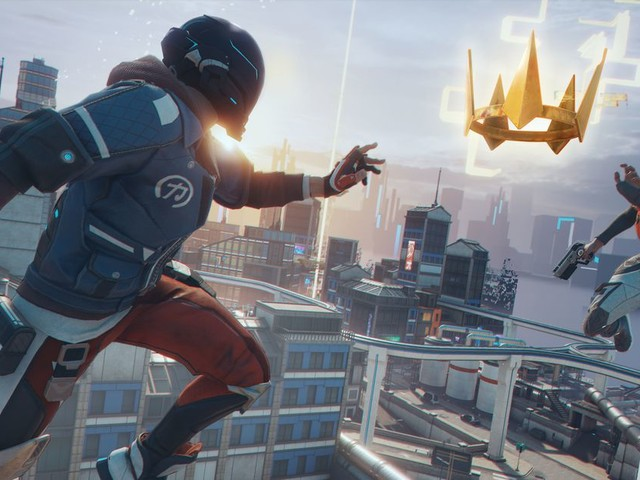 Ubisoft's Hyper Scape is a fast, chaotic battle royale from the team behind Rainbow Six: Siege