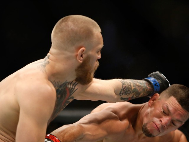 NAC chief: McGregor's performance vs. Diaz was key to getting license for Mayweather fight