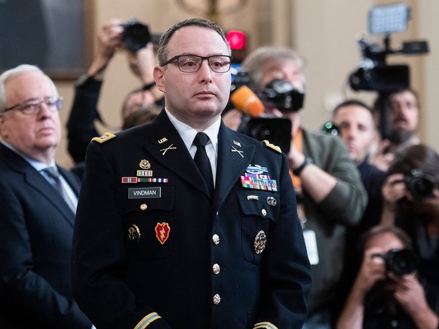 Lt. Col. Alexander Vindman — key witness in Trump impeachment trial — announces military retirement following what he says was political retaliation
