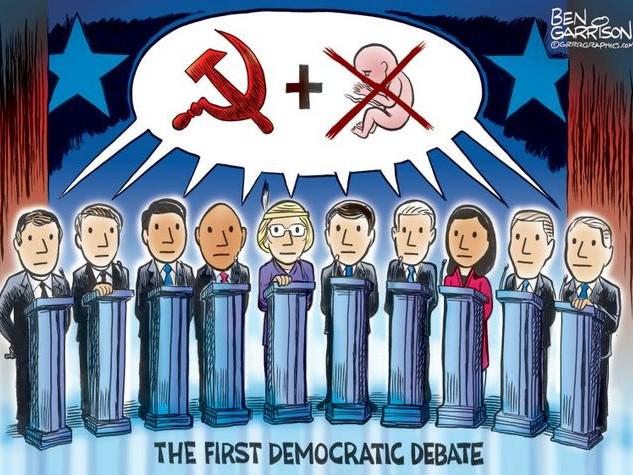 """Jim Kunstler Slams The """"Say Anything!"""" Democrat Debates"""