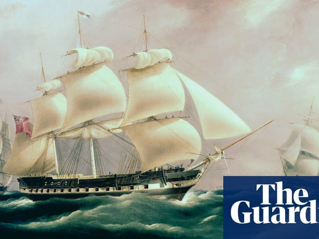 'Tone deaf' ads use slave ship images to promote UK sea-going sector