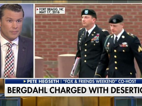 Pete Hegseth: Bowe Bergdahl Should Spend the Rest of His Life in Prison