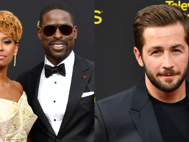 Sterling K. Brown & 'This Is Us' Co-Star Michael Angarano Suit Up for Creative Arts Emmys 2019