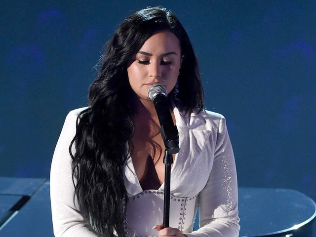 Demi Lovato Leaves Her Heart on the Stage During Powerful Grammys Performance