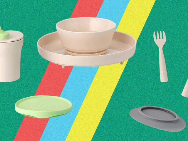 Ditch your kids' garish plastic plates for these eco-friendly alternatives