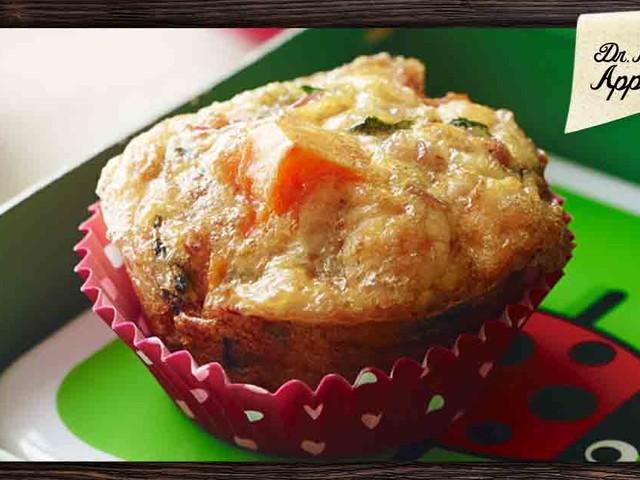 Savory Chicken and Veggie Muffins
