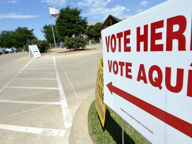 Who won and lost in Tarrant County and Texas on primary runoff election day
