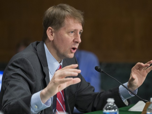 Consumer bureau director defends handling of Wells Fargo scandal in face of GOP criticism