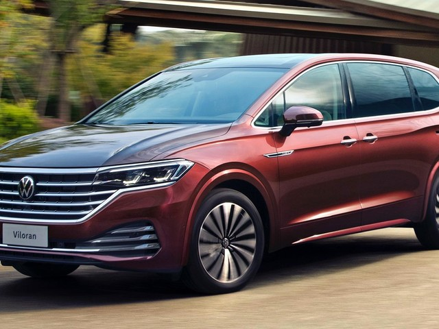 China's VW Viloran Minivan Debuts As Buick GL8, Lexus LM Rival