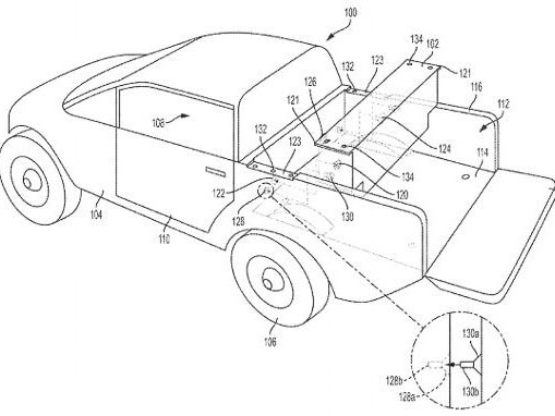 Rivian Files Patent for Removable Auxiliary Battery
