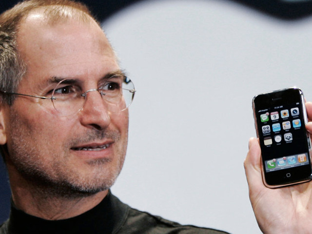 Steve Jobs wanted the original iPhone to have a permanent 'back button' like Android