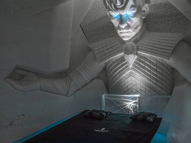 The Game of Thrones Ice Hotel