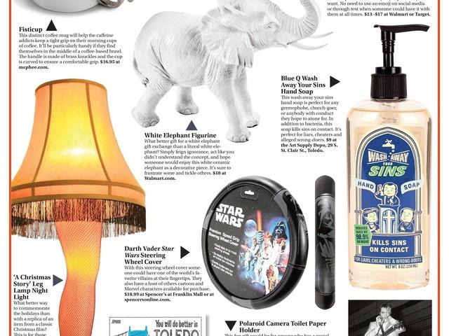 Gift Guide: White Elephant