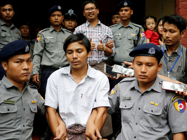 Myanmar Court Rejects Appeal Of 2 Imprisoned Reuters Journalists