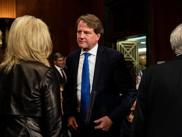 Trump and Allies Ramp Up Attacks as McGahn Emerges as Chief Witness in Mueller Report