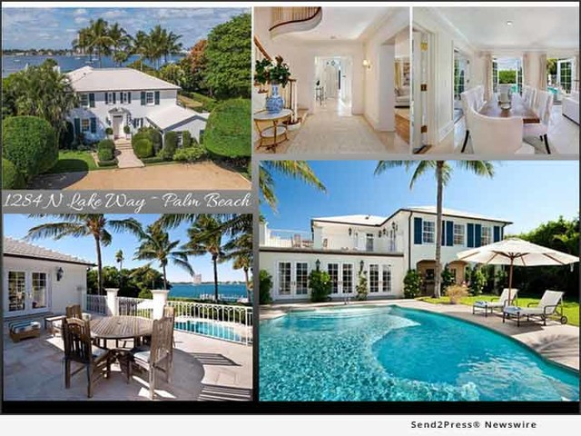 Jim McCann and Rosalind Clarke Announce an Exquisite Landmarked Colonial Revival Palm Beach Residence