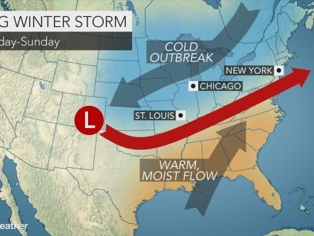 Round Two: Snowmageddon Threatens East Coast This Weekend