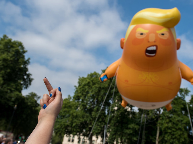 How UK Protested Trump's Visit