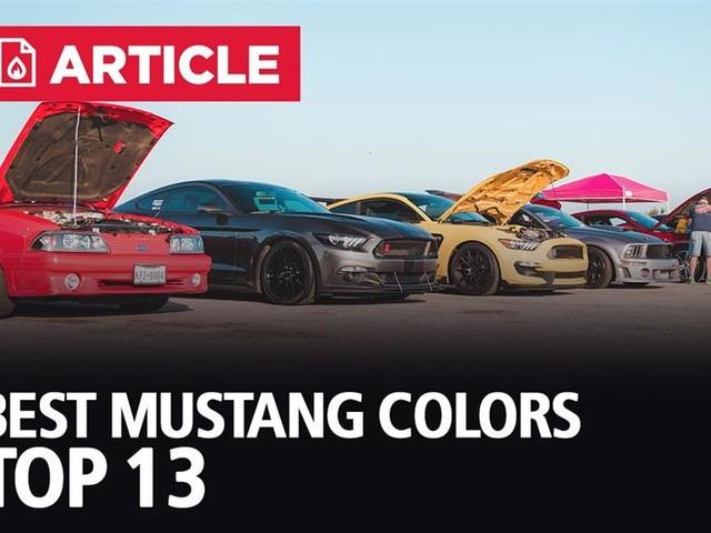 Best Mustang Colors | Top 13 Mustang Colors