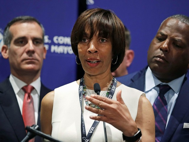 Baltimore Mayor Catherine Pugh resigns from office