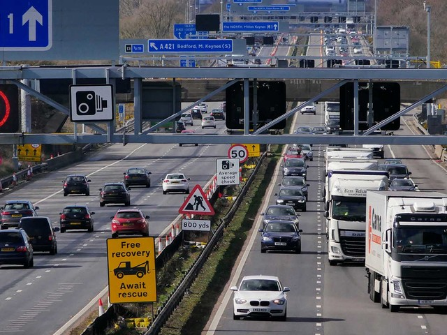 Drivers In The UK Want Lower Highway Speed Limits In Wet Weather, Survey Finds