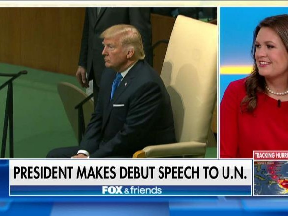 Sarah Sanders Trump United Nations North Korea Escalating Tensions