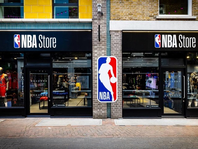 NBA opens first official store in the UK
