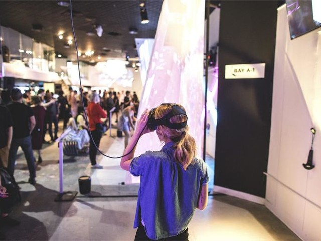 Can Virtual Reality Bring Back the Arcade?