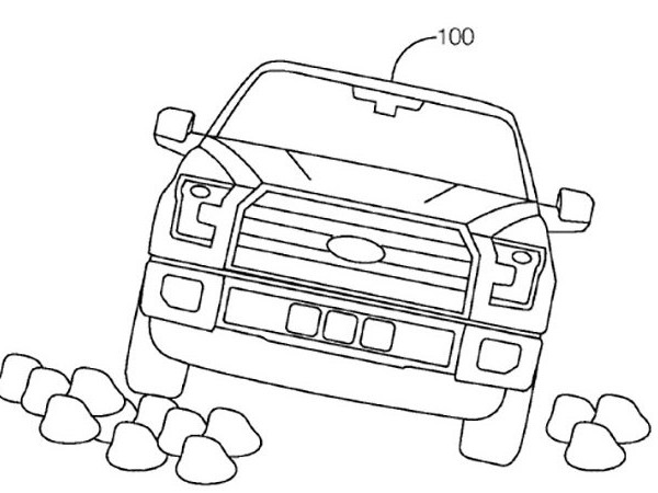 Ford granted patent for autonomous off-road driving system