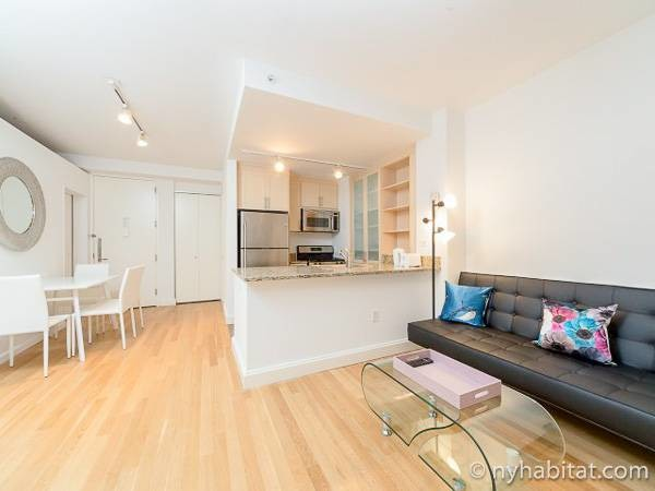 New York Apartment: 2 Bedroom Apartment Rental in Financial District (NY-17329)