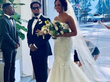 D.L. Hughley's Daughter Was A Vision For Her Wedding Ceremony & Dad Was Over The Moon!