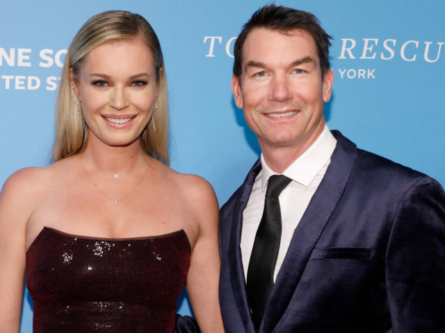 Even Jerry O'Connell can't believe he landed Rebecca Romijn