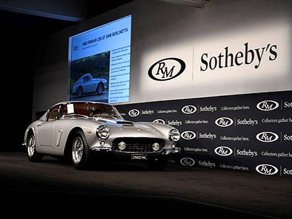 1962 Ferrari 250 GT SWB Berlinetta sells for $8.1million