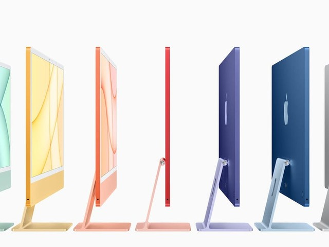 Apple just announced a redesigned iMac in 7 colors, marking a revival of its iconic colorful computers