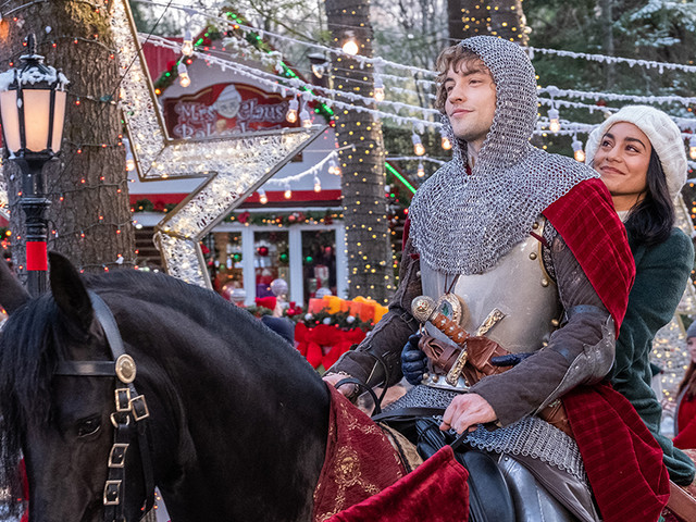 Netflix's 'The Knight Before Christmas' is gosh-darned hopeful