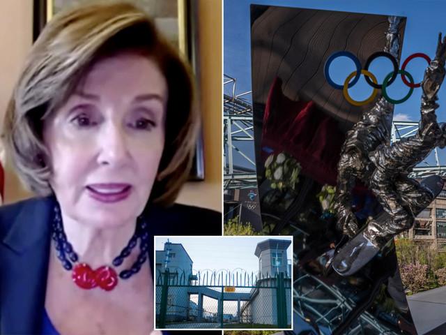 Nancy Pelosi calls for diplomatic boycott of 2022 Olympics in China