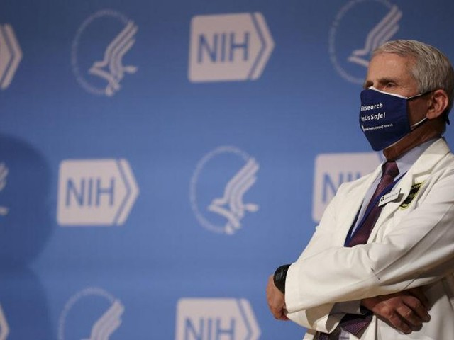 Dr. Fauci says vaccinated people can't dine indoors or go to the movies
