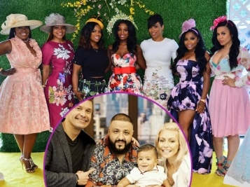 Looks Like 'RHOA' Cameras Were Rolling At Shamea Morton's Bridal Tea Party + DJ Khaled's Son Makes Daytime Debut + Xscape Filming Reality Show?