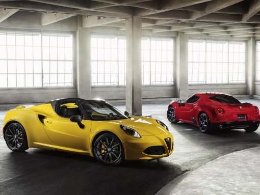 Alfa Romeo 4C Stays True to Self for 2018