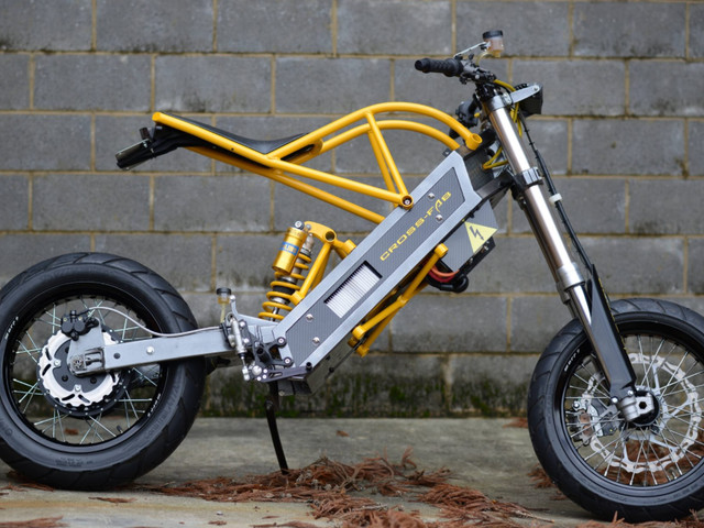 Believe it or not, this electric motorcycle actually works, and you can own it