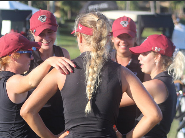 Florida Tech wins its first women's golf national title in last match before the team is eliminated
